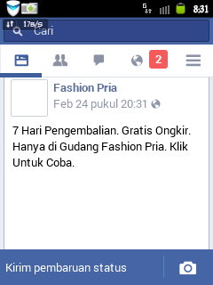 aplikasi facebook ringan dan kecil