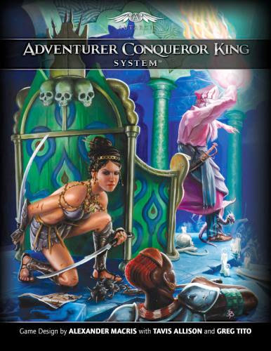 Digging Into The Adventurer Conqueror King System - Covering The Classes Human
