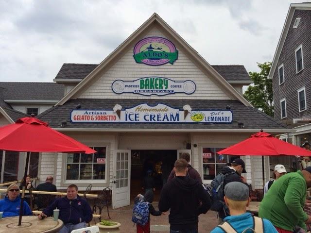 Aldo S Ice Cream Block Island