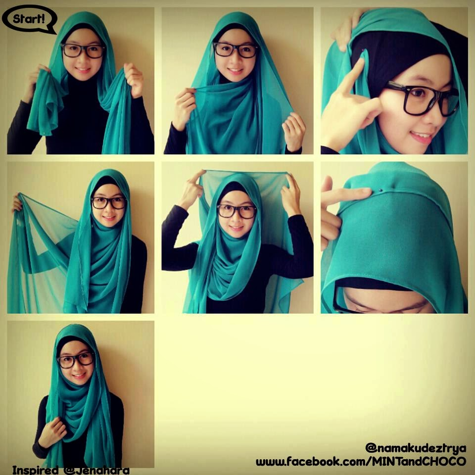 NEW VIDEO TUTORIAL HIJAB PESTA NATASHA FARANI Hijab