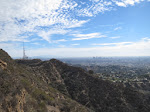 Griffith Park and DTLA are visible