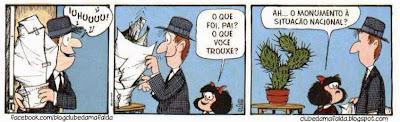 Clube da Mafalda:  Tirinha 721