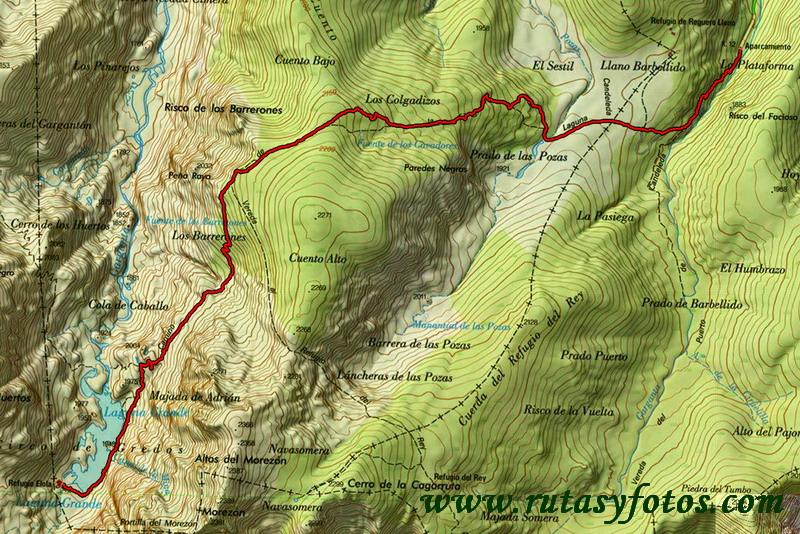 Plataforma de Gredos - Laguna Grande