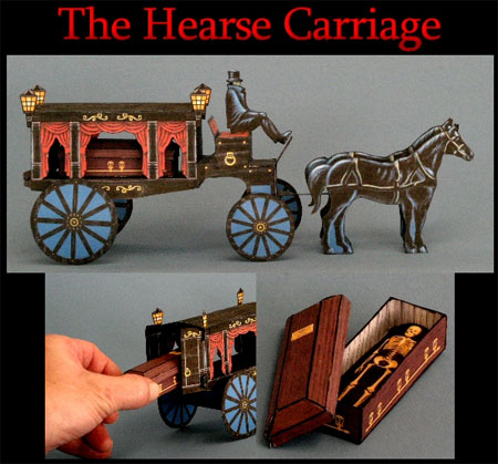 The Hearse Carriage Papercraft
