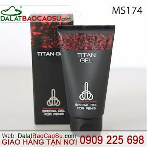 titan gel bôi trơn hỗ trợ tập tăng kích thước dương vật