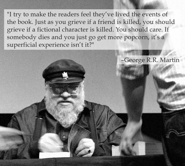 Odio a George RR Martin