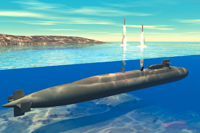 US missile sub departs for Persian Gulf