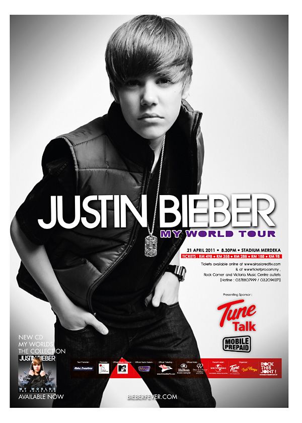 justin bieber tickets 2011 new york. Justin Bieber Concert Tickets