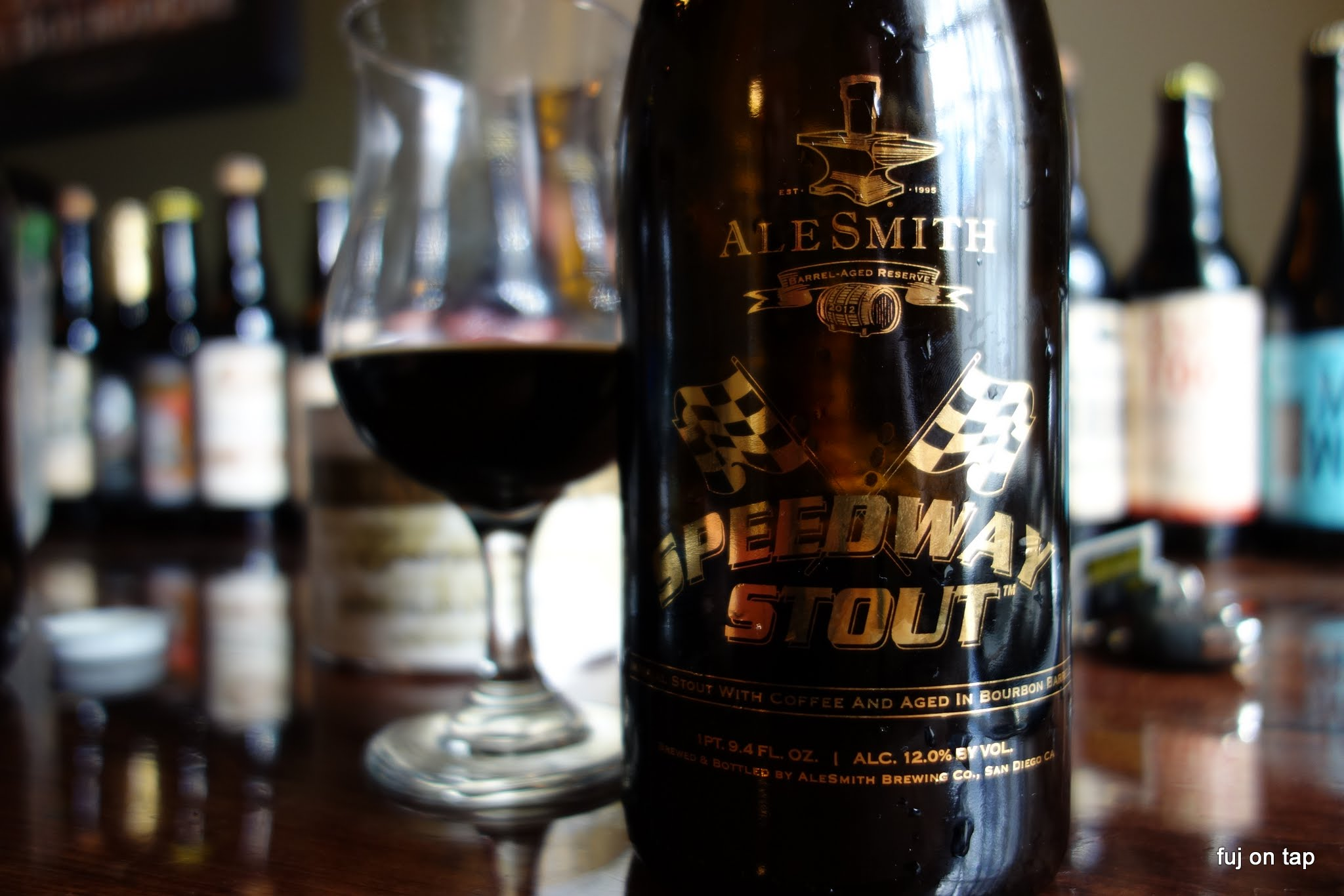 Alesmith Barrel Aged Speedway Stout