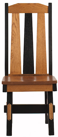 Savoy Chair in Medium and Midnight Oak