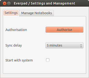 0211_Everpad - Settings and Management