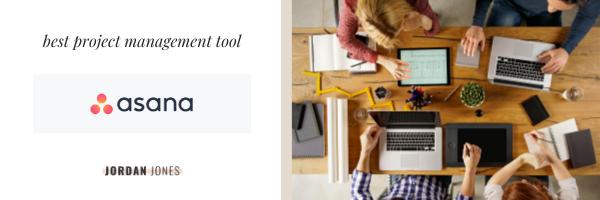the best task management tool, Asana