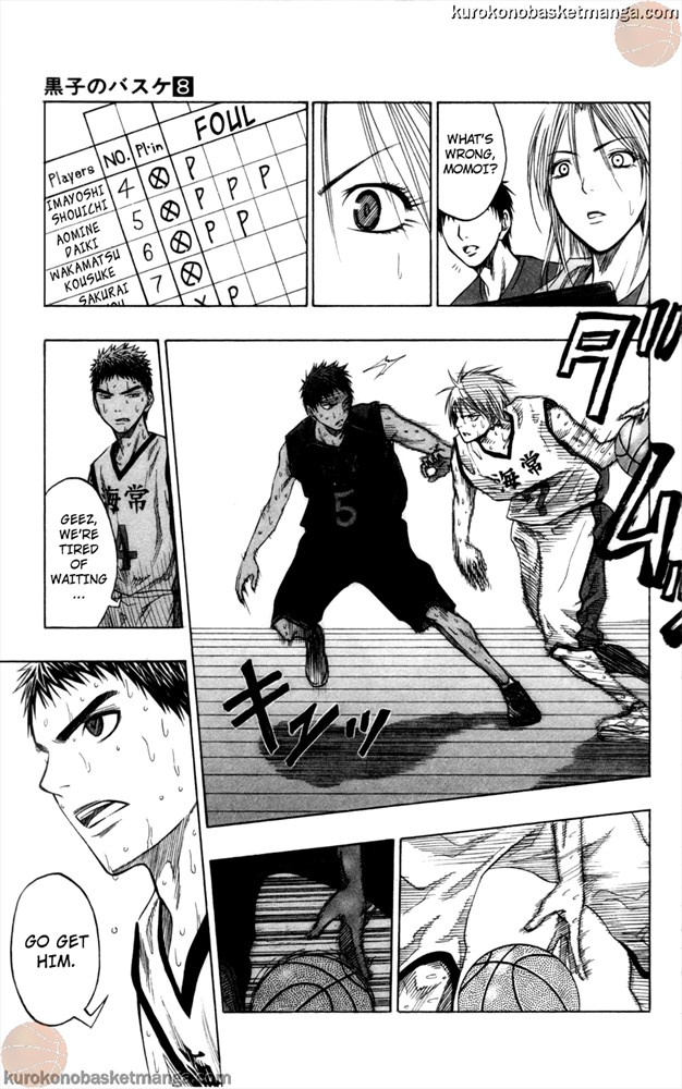 Kuroko no Basket Manga Chapter 69 - Image 17