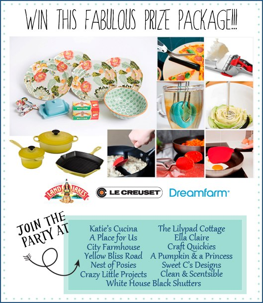 Springtime Progress Dinner Party Giveaway Featuring Product from Le Creuset, Land O Lakes, and Dreamfarm via KatiesCucina.com