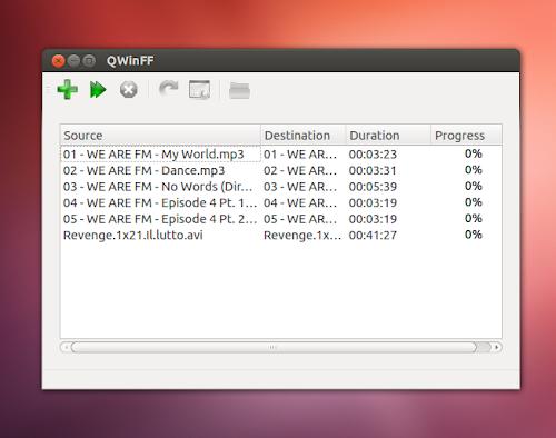 QWinFF su Ubuntu