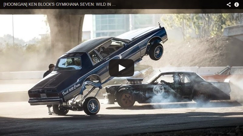 KEN BLOCK'S GYMKHANA SEVEN: WILD IN THE STREETS OF LOS ANGELES Custom Pinoy Rides Video
