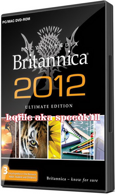 Encyclopedia Britannica 2012 Ultimate Edition DVD