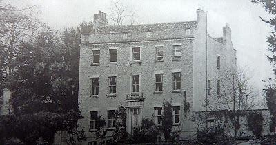 The Manor House, Little Shelford in 1916 from A record of Shelford Parva by Fanny Wale.