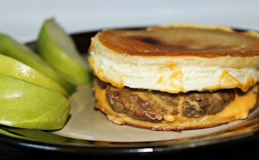 Make a Turkey Sausage Pancake Sandwich with the Hamilton Beach Breakfast Sandwich Maker