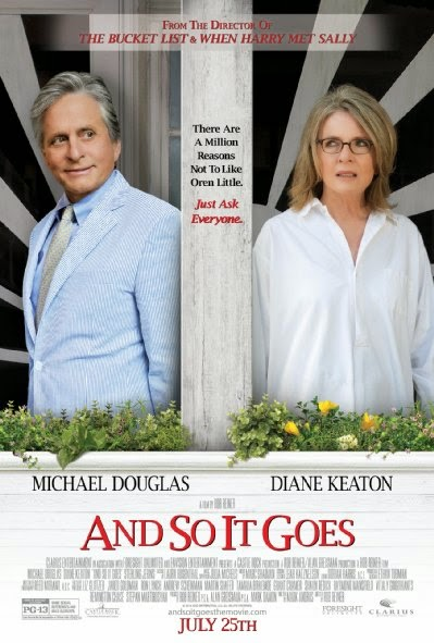 Poster Of English Movie And So It Goes (2014) Free Download Full New Hollywood Movie Watch Online At Alldownloads4u.Com