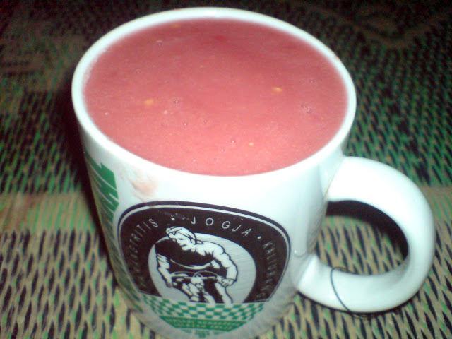 Home made Guava Juice