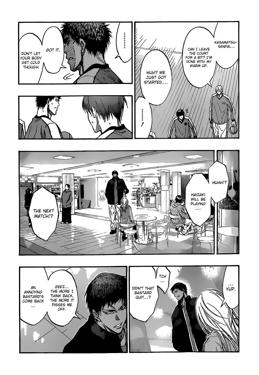 Kuroko no Basket Manga Chapter 170 - Image 02