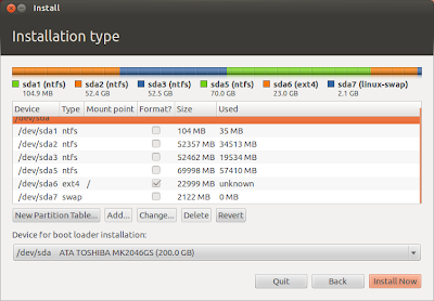 Install Ubuntu 12.04 LTS Precise Pengolin alongside Windows | Linux | loewyicom