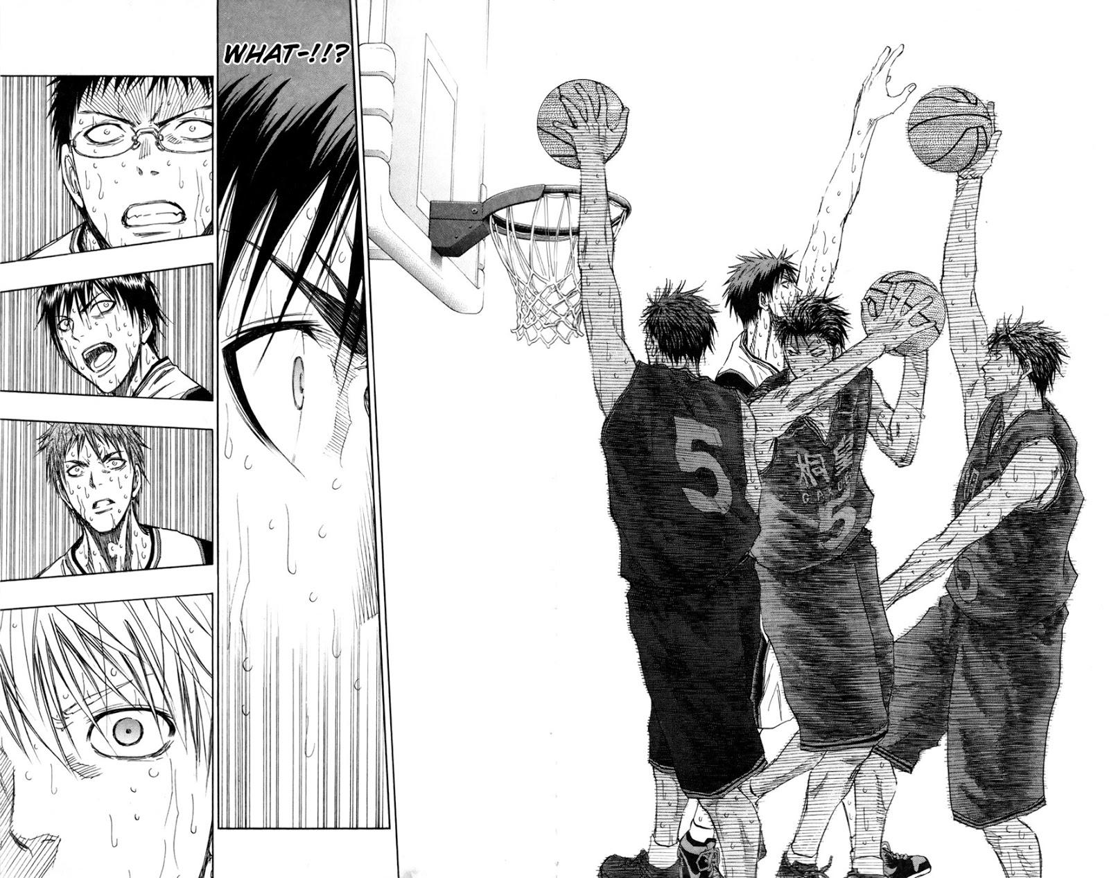 Kuroko no Basket Manga Chapter 127 - Image 14-15