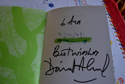 Signed copy of The Savage