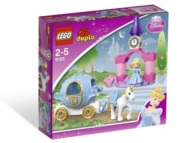 レゴ デュプロ プリンセス シンデレラの馬車 6153