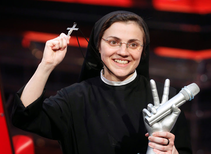 Catholic nun releases reprise of Madonna's 'Like a Virgin'