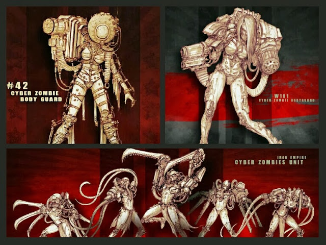 Cyber Zombies Iron Empire