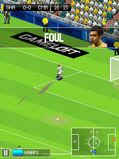 Game Java Real Football 2014 dan 2015 untuk hp java Touch Screen