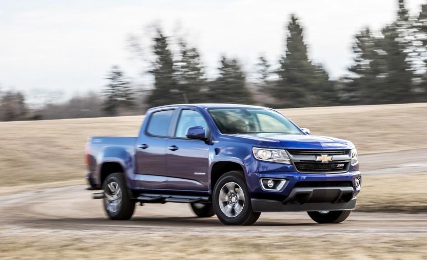 Chevrolet Colorado 2016 được đánh giá là chiếc bán tải đẹp nhất nhì trong phân khúc hiện nay