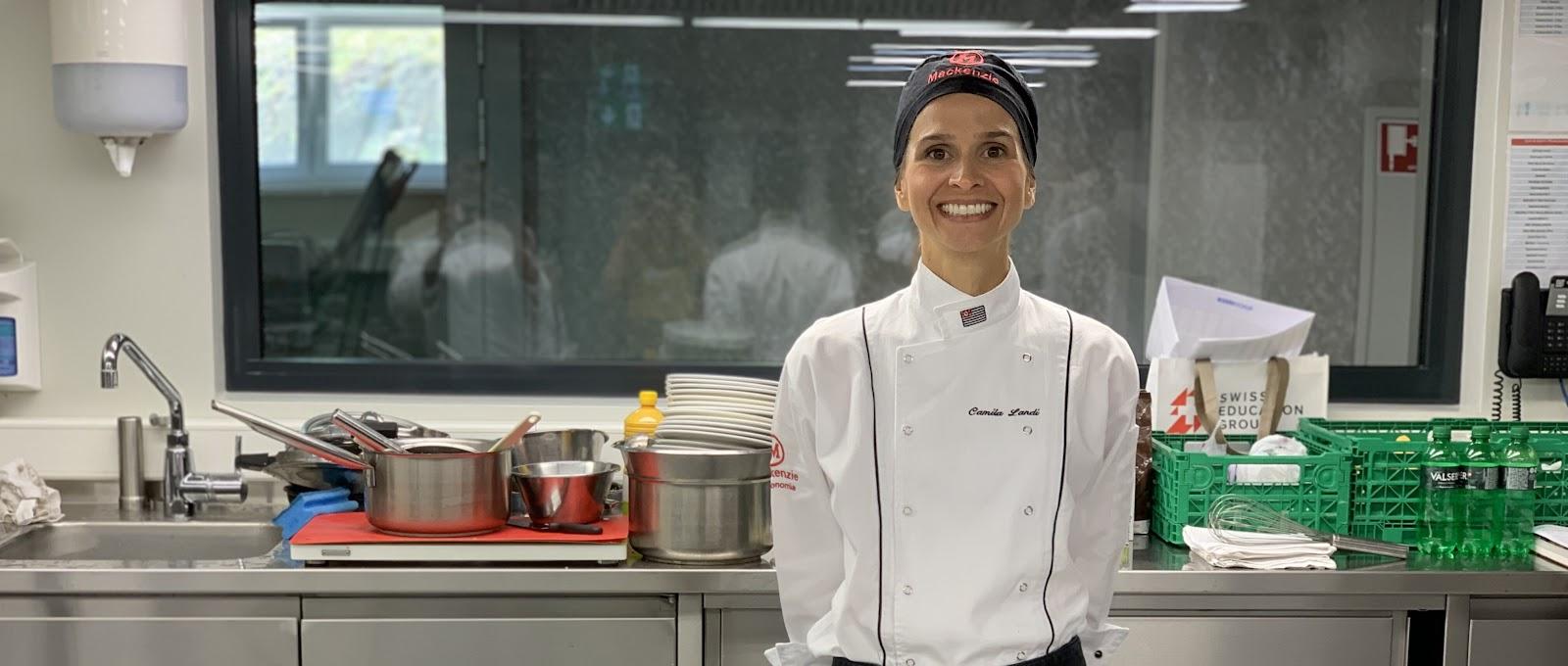 Coordenadora de Gastronomia do Mackenzie ministra aula na Suíça   Mackenzie