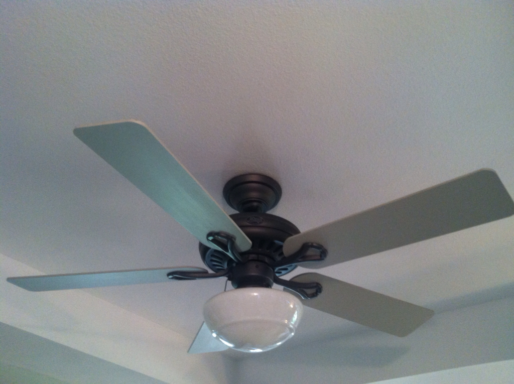 Fresh redesign you can paint your ceiling fan blades aloadofball Images