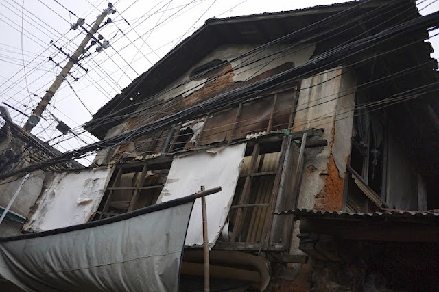 deteriorating home at Beizheng Street in Changsha, China