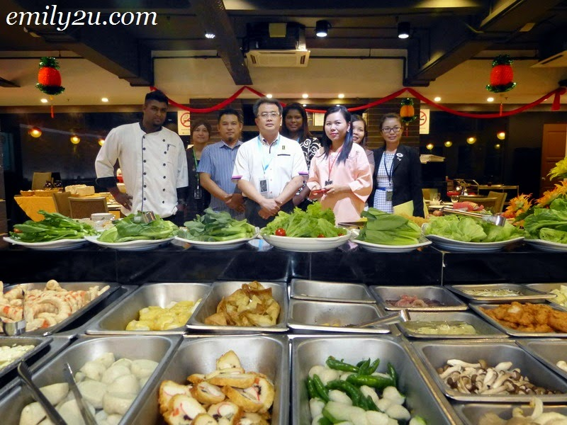 Symphony Suites Hotel Chinese New Year Steamboat Dinner Promotion