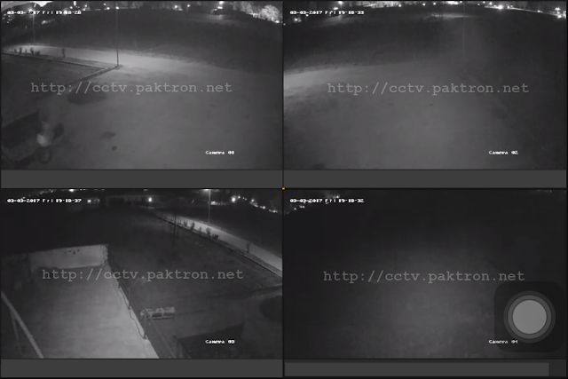 Hikvision CCTV Night Vision result Pakistan