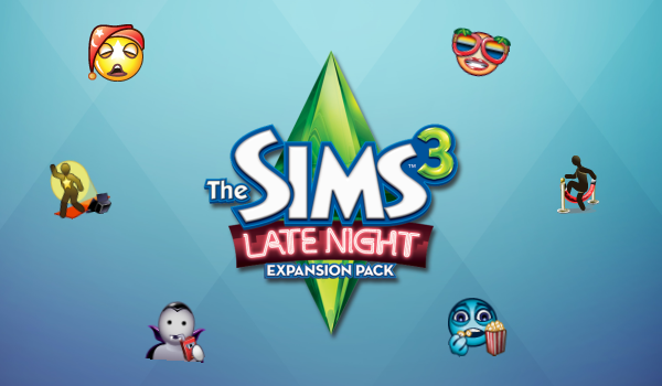 The Sims 3 Late Night Icons