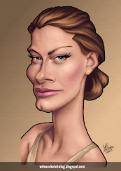 Caricature of Alyssa Sutherland