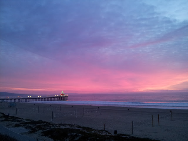 Dusk to Twilight at Manhattan Beach