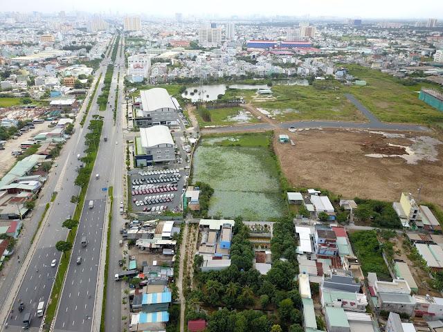 Khu đô thị Akari City Nam Long nằm ngay vị trí cực đẹp Võ Văn Kiệt