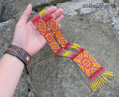украшения из бисера языческие этнические славянские