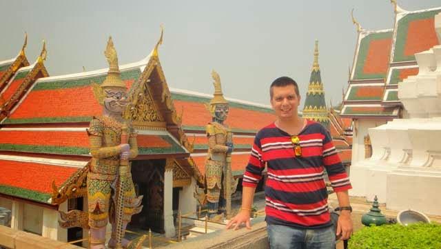 Os templos de Bangkok