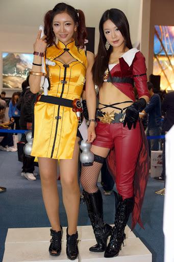 Người mẫu xứ Hàn gợi cảm với cosplay Age of Heroes 8