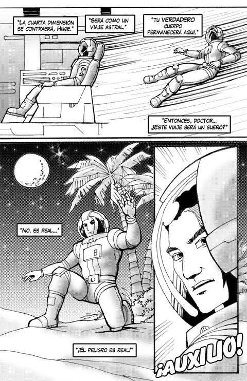 Proyecto Comics Los Pescadores de la Luna 01