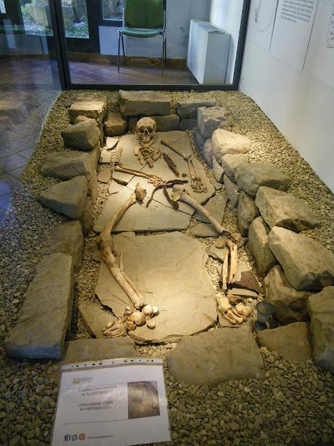 Tumba, excavaciones arqueológicas, Fiesole