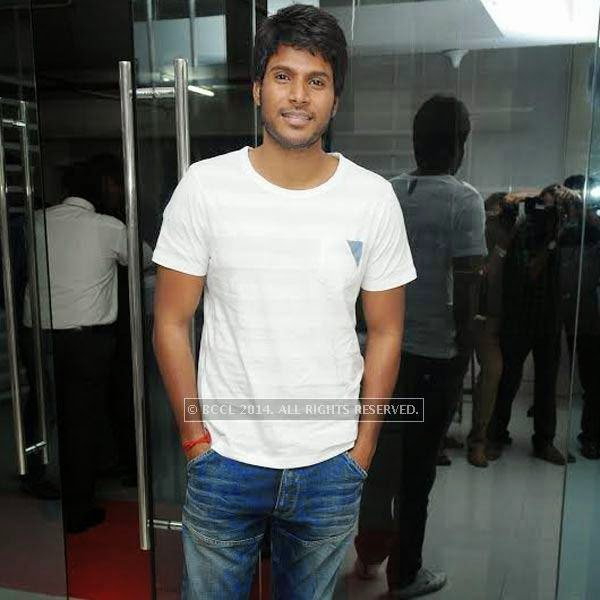 Sundeep Kishan during SIMA's party held at OTM, Hyderabad.