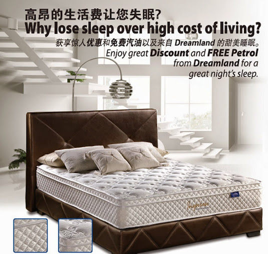 3 Free Gift Inspirasi Dreamland Mattress promotion 50%